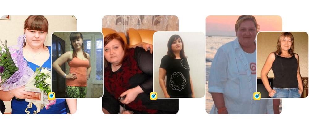 девушки похудели от кето слима